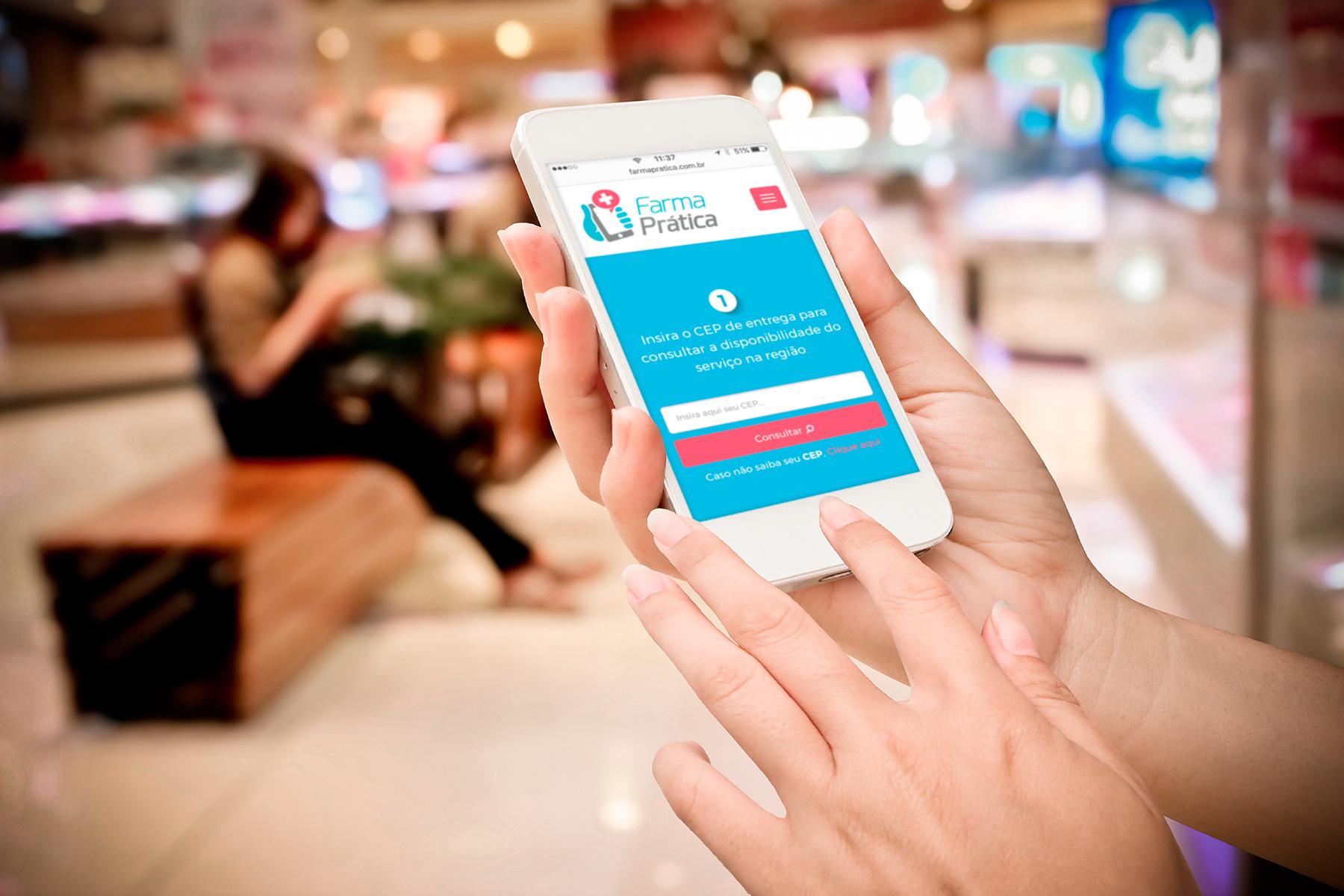 aplicativo facilita delivery de pequenas farmacias