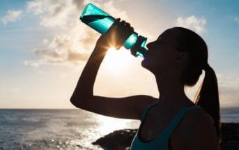 desidratação agua