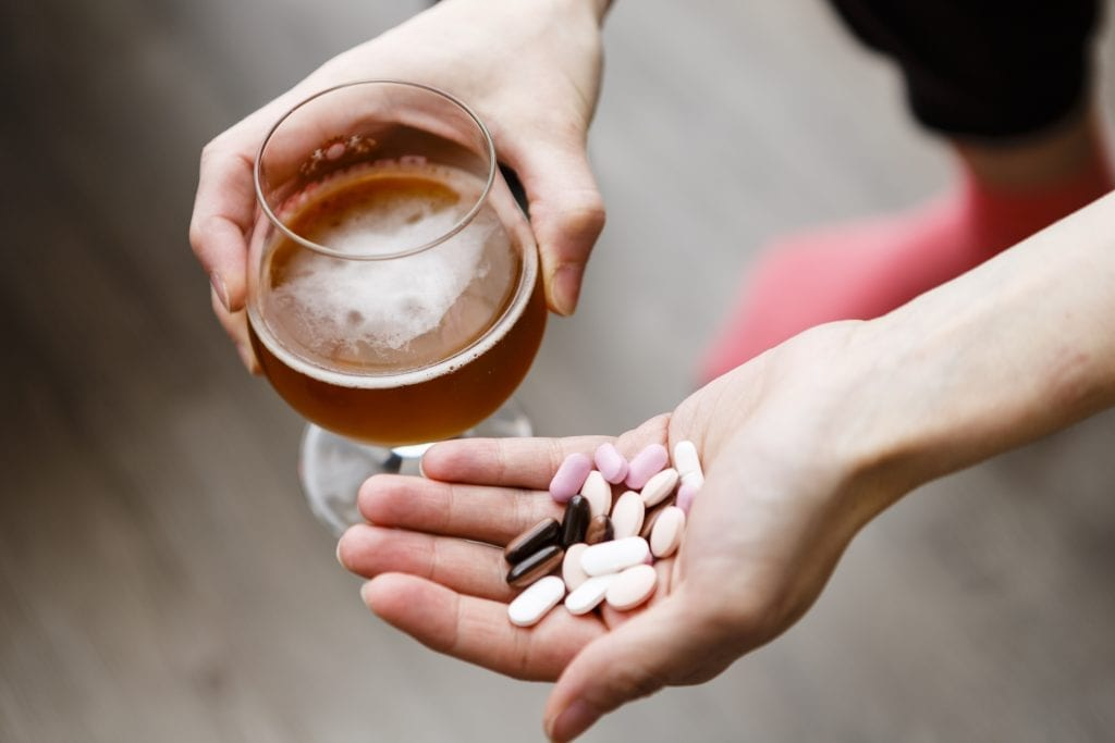 cerveja e medicamentos