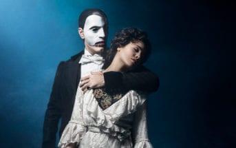 O Fantasma e Christine Daaé – Thiago Arancam e Lina Mendes Crédito Pedro Dimitrow