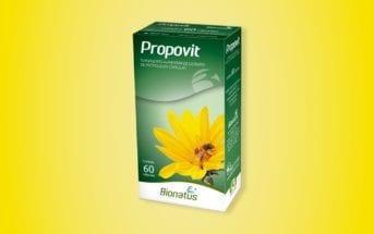 bionatus acaba de aumentar a sua linha de produtos com o lancamento de propovit extrato de propolis em capsulas