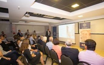 Marcelo Cançado conduziu a apresentação do Instituto