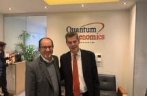 Cleiton de Castro20Marques CEO Biolab Farmaceutica Jean Philippe Milon CEO Quantum Genomics