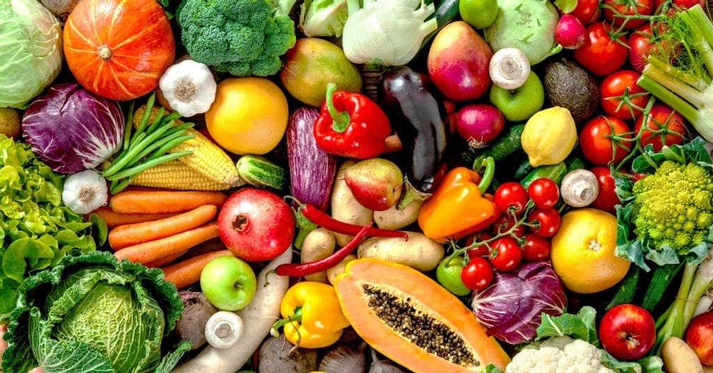 alimentos para repor as vitaminas