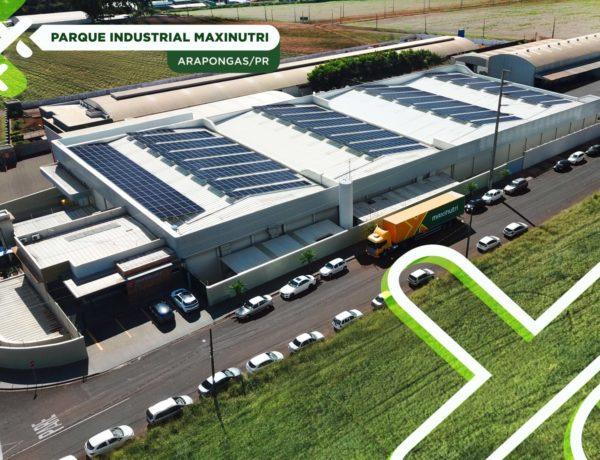 Maxinutri opera 100% com energia solar